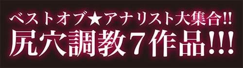 ベストオブ★アナリスト大集合!尻穴調教7作品!